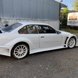 Flossmann DTM GTR style wide body kit for BMW E36 coupe / M3