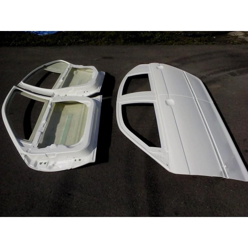 BMW E46 sedan - lightweight fiberglass doors