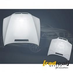 BMW E46 sedan compact - fiberglass bonnet / hood OEM style