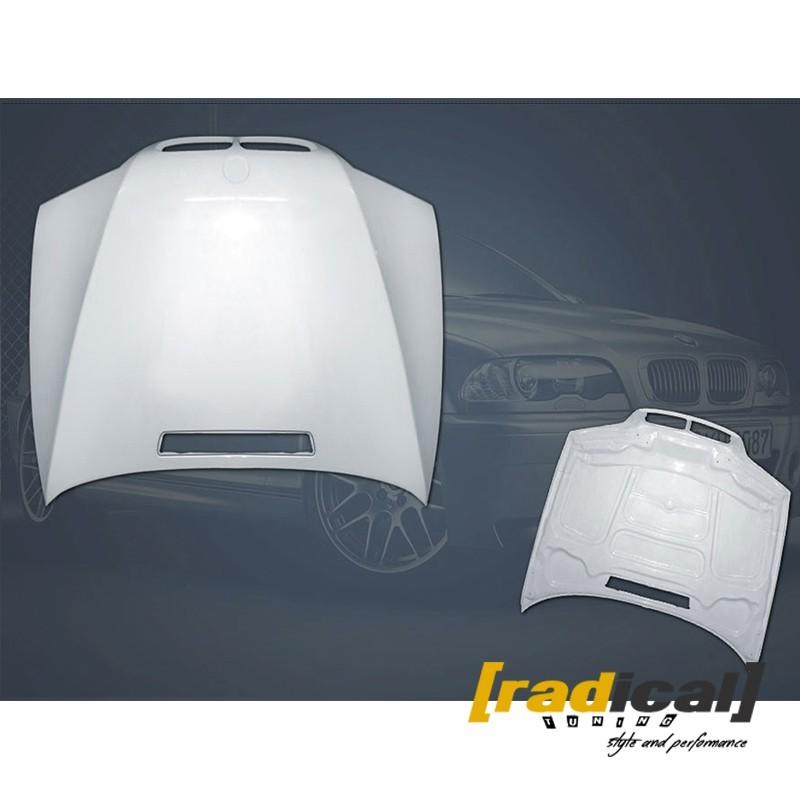 BMW E46 coupe / M3 - fiberglass bonnet / hood