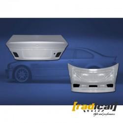 BMW E46 coupe / M3 - fiberglass CSL spec trunk/ boot lid
