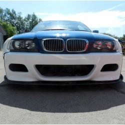 BMW E46 coupe / M3 - M3 spec front bumper replica