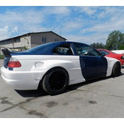 Extended Rocket Bunny style wide body kit for BMW E46 coupe / M3