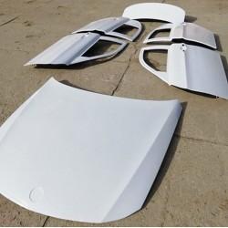 OEM style fiberglass bonnet / hood for BMW E90 sedan