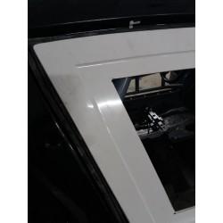 Fiberglass doors with integrated Porsche door cards for BMW E82 coupe 1M