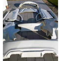 Lightweight FRP BMW F87 M2 replica rear bumper