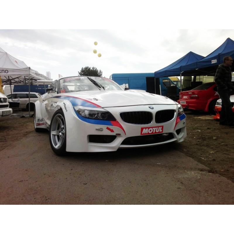 Lightweight FRP GT3 wide bonnet hood for BMW  Z4 E89 2009-2016