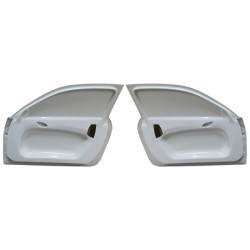 FRP doors with frame and integrated Porsche door cards for BMW  E92 coupe / M3