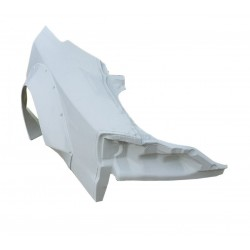 FRP Rocket Bunny full wide rear quarter panels for Nissan S15 Silvia